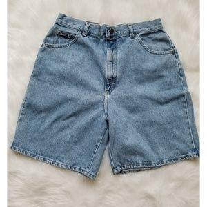 Lee High Waist Wedgie Mom Shorts
